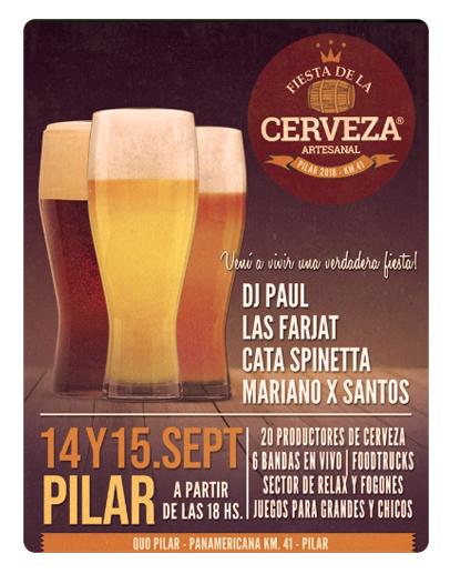 Fiesta Cerveza Pilar